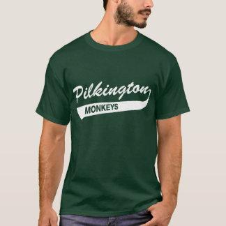 Karl Pilkington Monkeys Green T-shirt