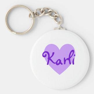 Karli in Purple Keychain