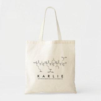 Karlie peptide name bag