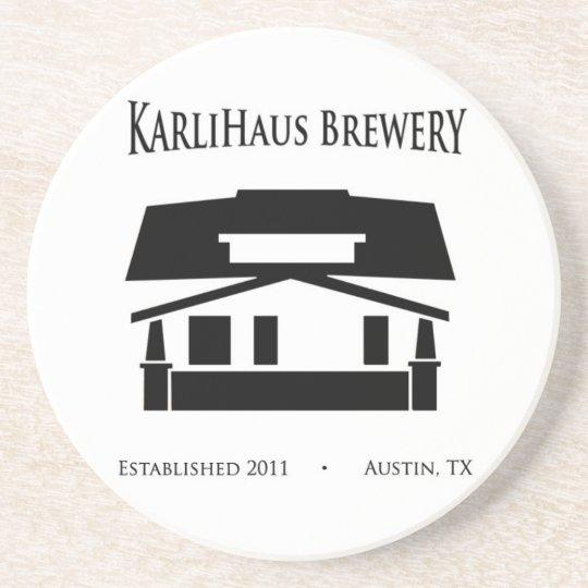 KarliHaus Brewery Coaster