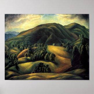 Karlo Mijic Mountain Landscape Poster