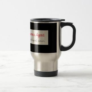 karma Agent - intelligent wear, positive energy Travel Mug