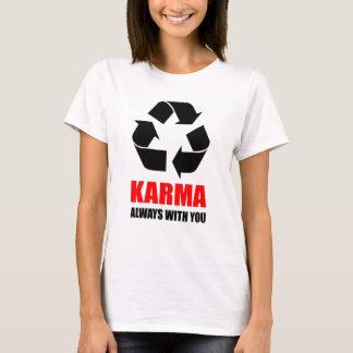 Karma Always With You Buddha Buddhist Funny T-Shirt