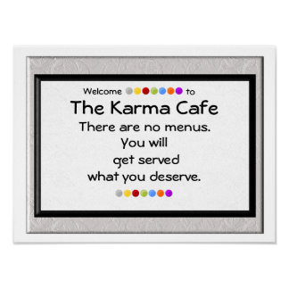 Karma Cafe Poster