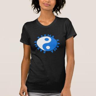 KARMA Circle with Yin Yang Symbol T-Shirt