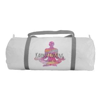 Karma Coming - Yogi Name Gym Bag