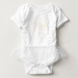 Karma (For Dark Background) Baby Bodysuit