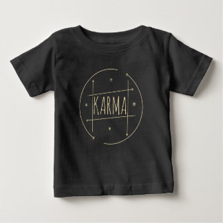 Karma (For Dark Background) Baby T-Shirt