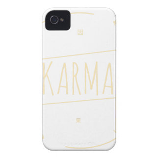 Karma (For Dark Background) Case-Mate iPhone 4 Cases