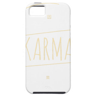 Karma (For Dark Background) iPhone 5 Case