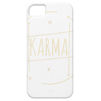 Karma (For Dark Background) iPhone 5 Cases