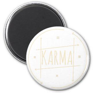 Karma (For Dark Background) Magnet