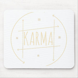 Karma (For Dark Background) Mouse Pad
