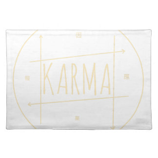 Karma (For Dark Background) Placemat