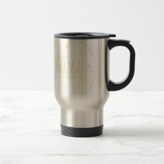 Karma (For Dark Background) Travel Mug