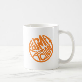 Karma is Action Coffee Mug