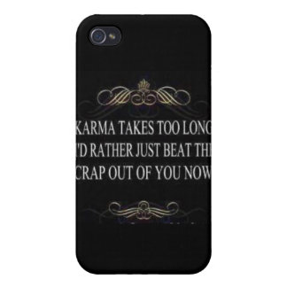 Karma is SLOW iPhone 4/4S Cases
