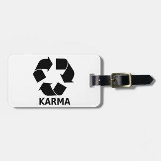 Karma Luggage Tag