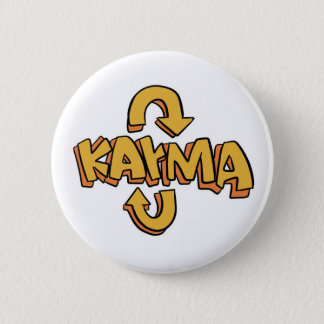 """Karma"" Mini Button"