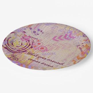 Karma Paper Plate