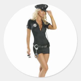 Karma Police Classic Round Sticker