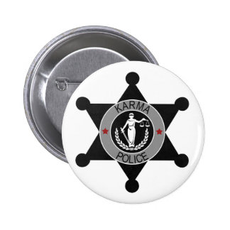 Karma Police Radiohead 2 Inch Round Button