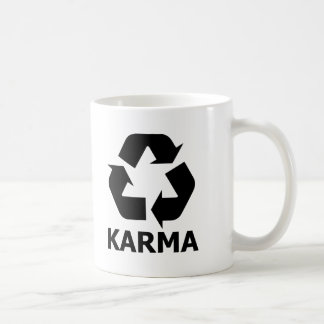 Karma Recycle Coffee Mug