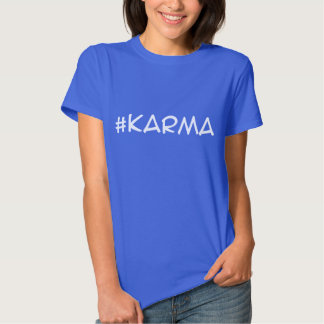 #karma t-Shirt (white letters)
