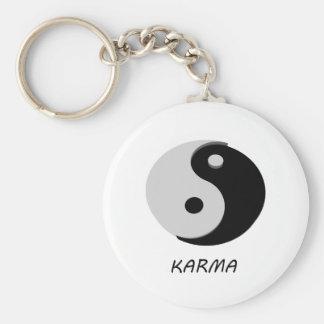 Karma Ying Yang Keychain