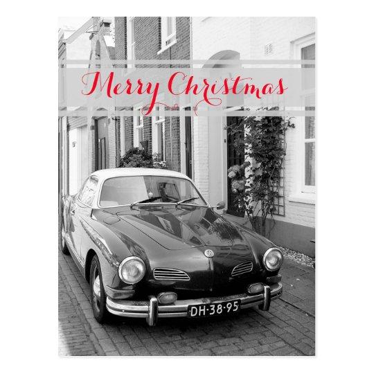 Karmann Ghia Classic Car Postcard