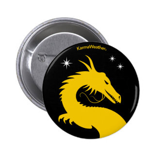 KarmaWeather's logo 2 Inch Round Button