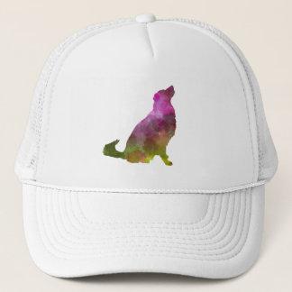 Karst Shepherd Dog in watercolor Trucker Hat