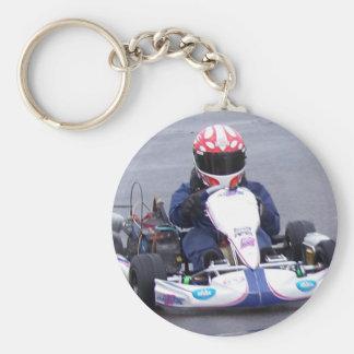Kart Racer Keychain