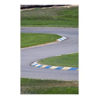 Kart Track Customized Stationery