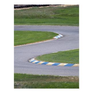 Kart Track Letterhead