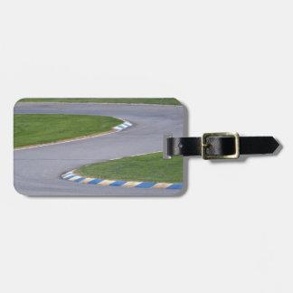Kart Track Luggage Tag