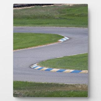 Kart Track Plaque