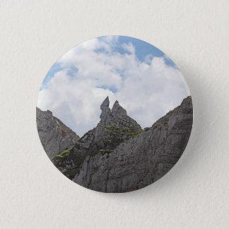 Karwendel range in the Bavarian Alps. 2 Inch Round Button
