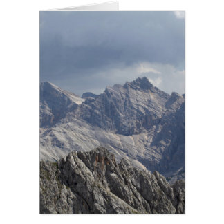 Karwendel range in the Bavarian Alps. Card