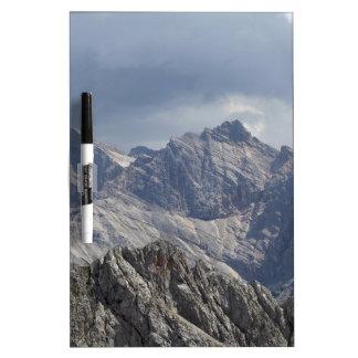 Karwendel range in the Bavarian Alps. Dry Erase Board