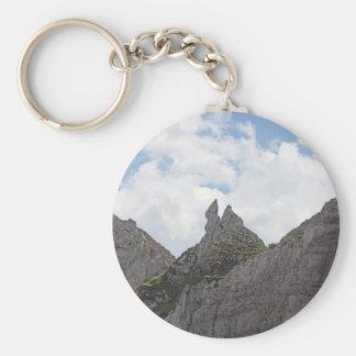 Karwendel range in the Bavarian Alps. Keychain