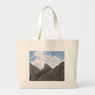 Karwendel range in the Bavarian Alps. Large Tote Bag