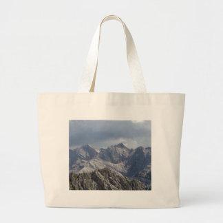 Karwendel range in the Bavarian Alps. Large Tote Bag