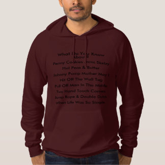 KASHANI What Do You Know About? Hoodie