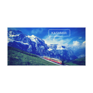 Kashmir Heaven On Earth Canvas Poster