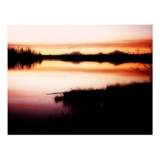 Kashwitna Reflections Postcard