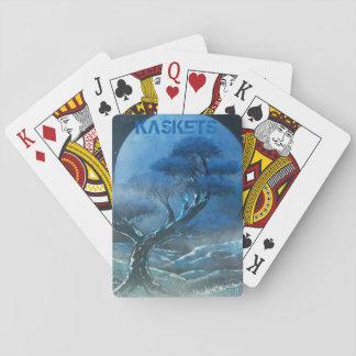 KASKETS - Blue bonsai playing cards