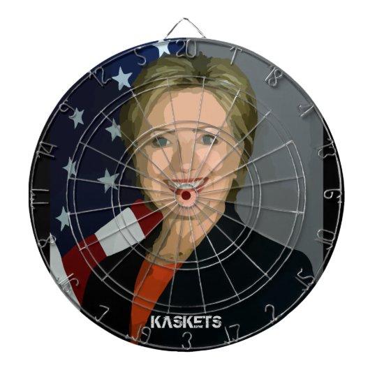 KASKETS - Clinton dart board
