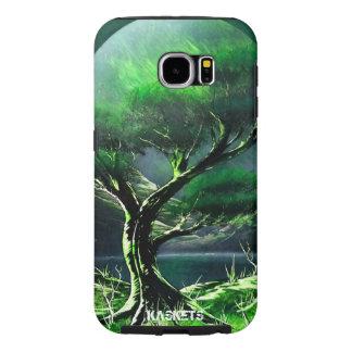 Kaskets Spray Art - Green Bonsai Samsung Galaxy S6 Cases