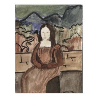 Kassandra's Mona Lisa Postcard